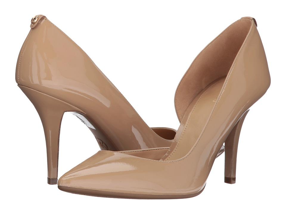 MICHAEL Michael Kors Nathalie Flex High Pump Nude Shoes