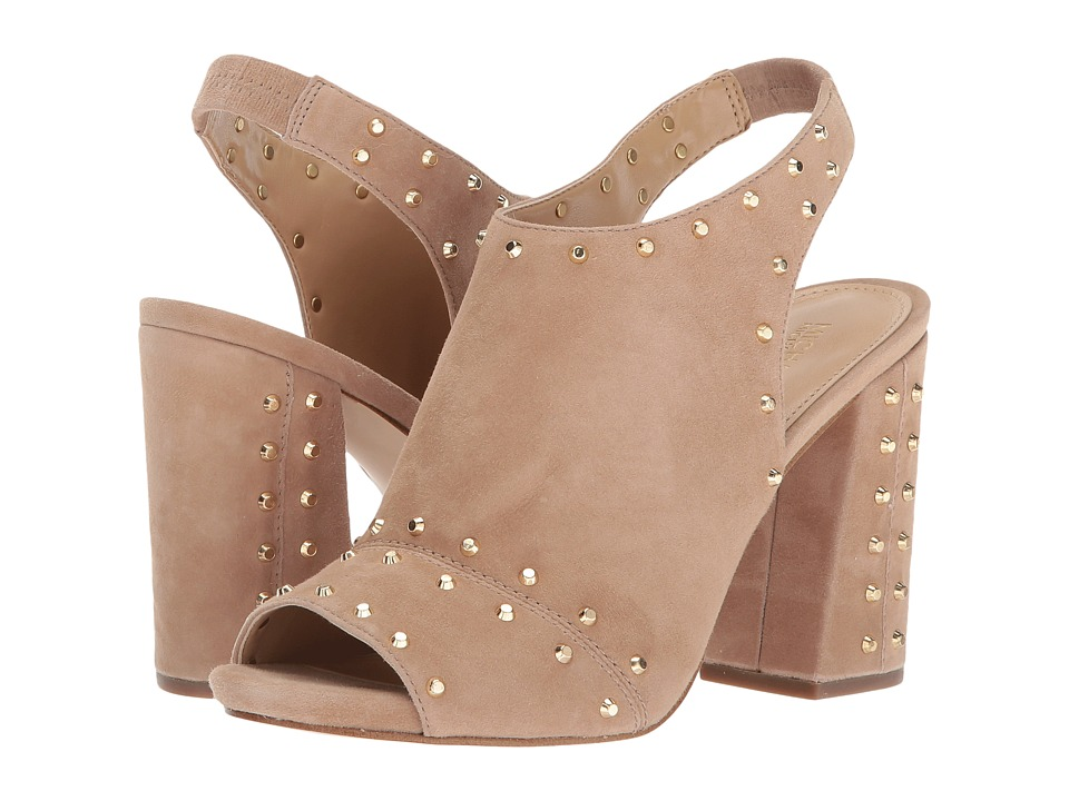 MICHAEL Michael Kors - Astor Open Toe (Dark Khaki) Women's Shoes