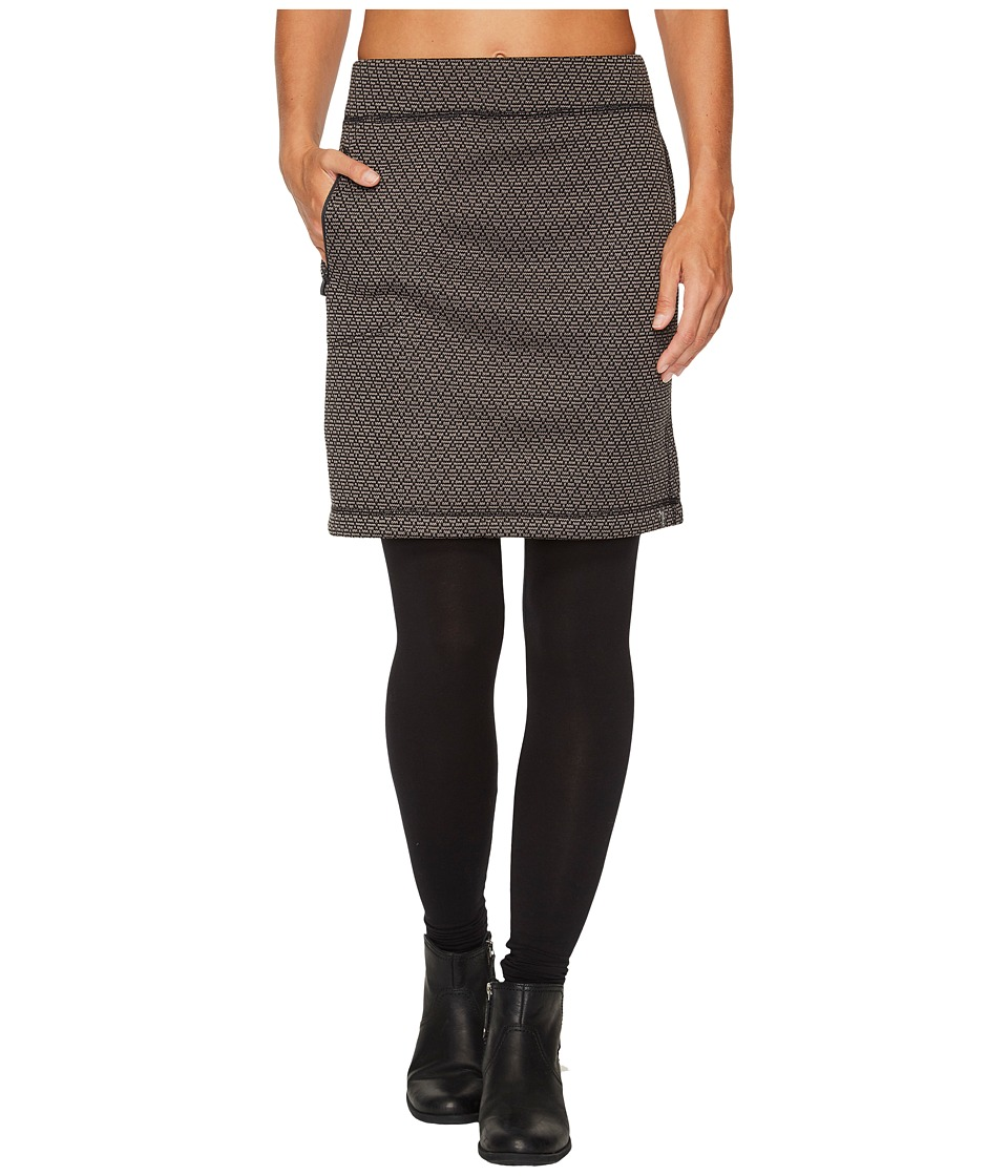 Woolrich Lochlyn Fleece Skirt (Black) Women