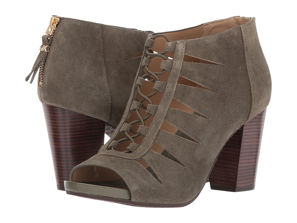 MICHAEL Michael Kors - Elsie Mid (Olive) Women's Shoes