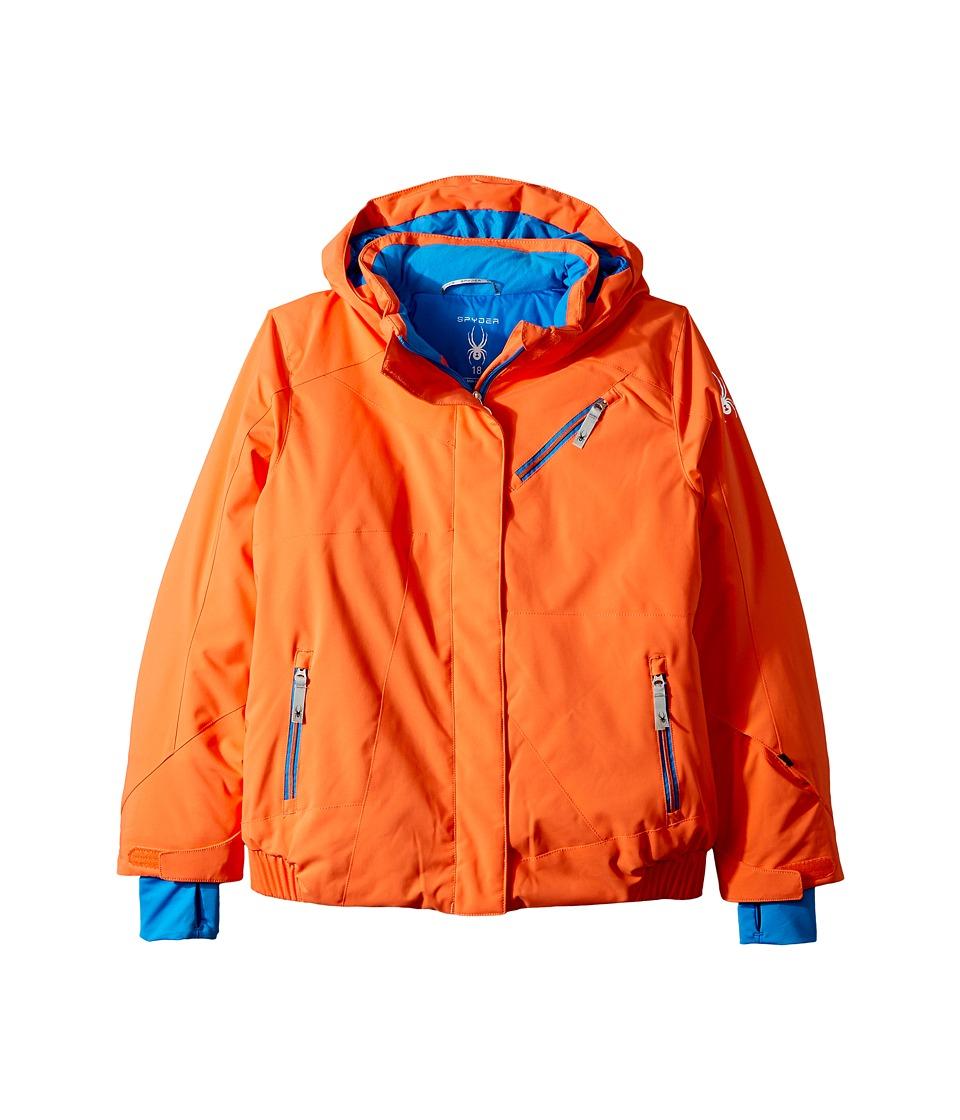 Spyder Kids - Lola Jacket (Big Kids) (Coral) Girl's Jacket