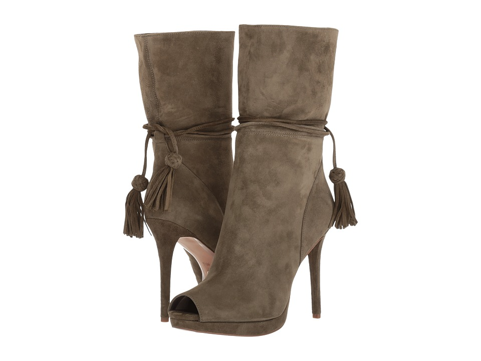 MICHAEL Michael Kors Rosalie Open Toe Bootie Olive Shoes