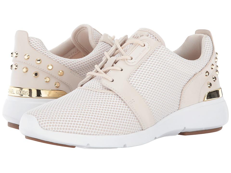 MICHAEL Michael Kors - Astor Trainer (Optic White/Ecru) Women's Shoes
