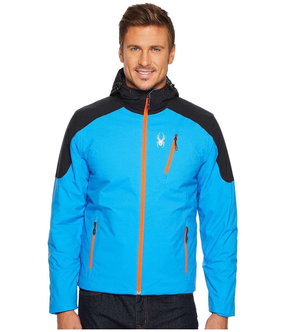 Spyder Berner Hoodie Jacket (French Blue/Black/French Blue) Men