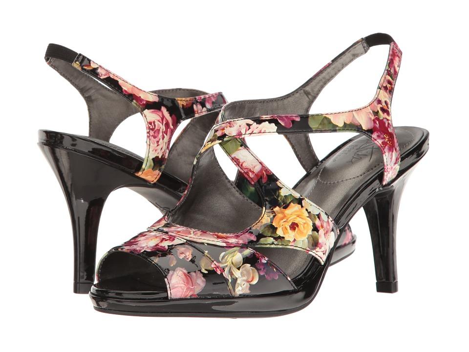 LifeStride - Viking (Black Floral) Women's Shoes