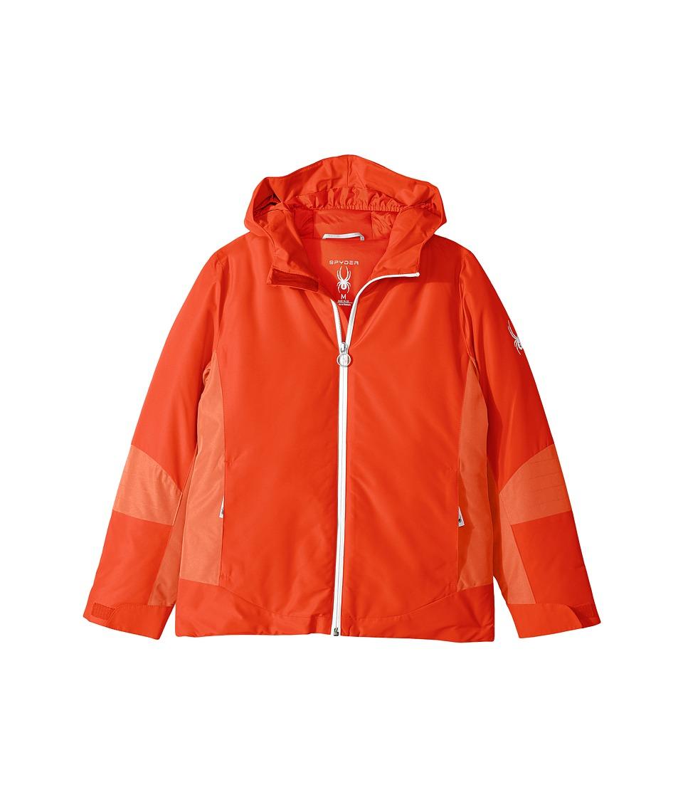 Spyder Kids Charm Jacket (Big Kids) (Burst/Coral) Girl