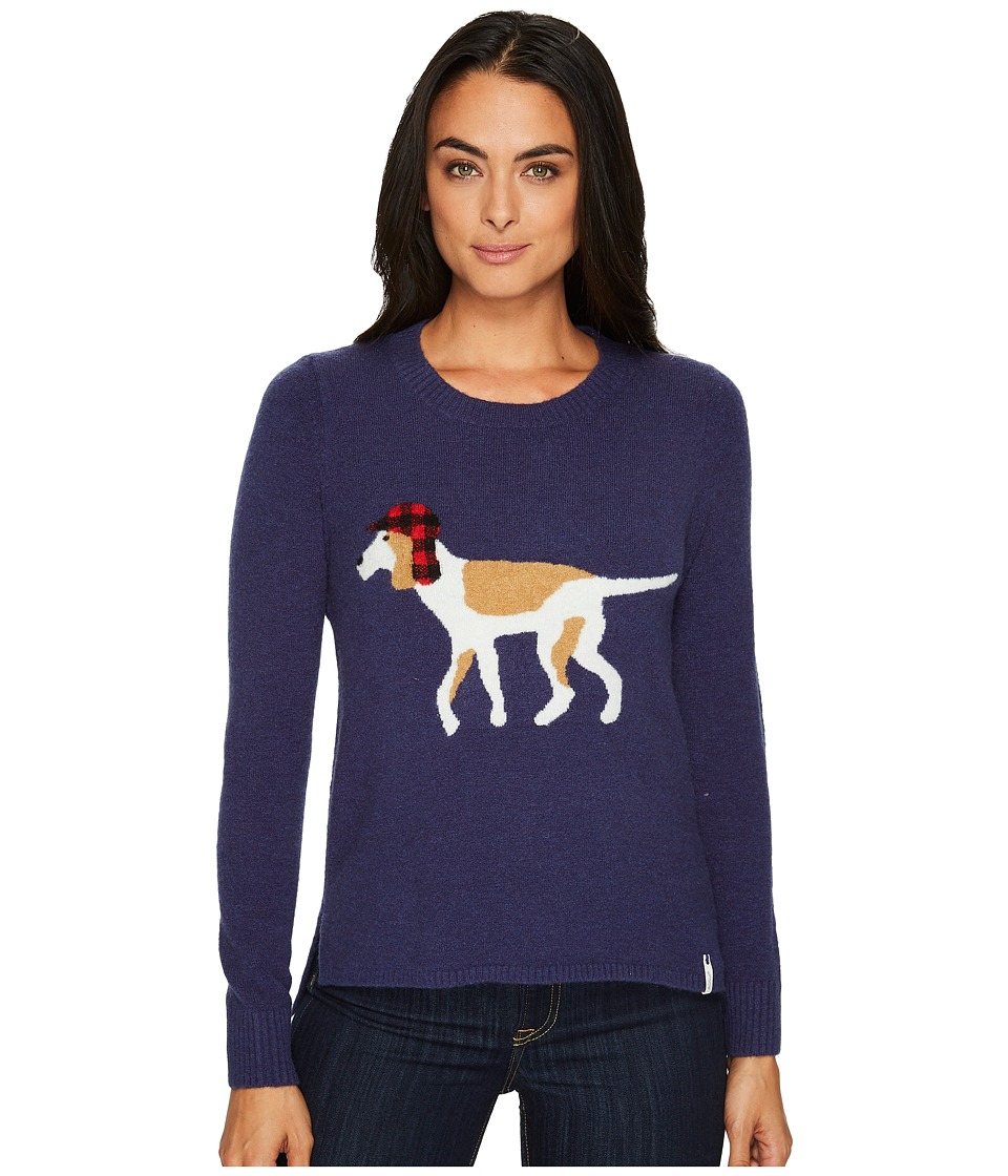 Woolrich Woolrich Motif Sweater (Neptune) Women