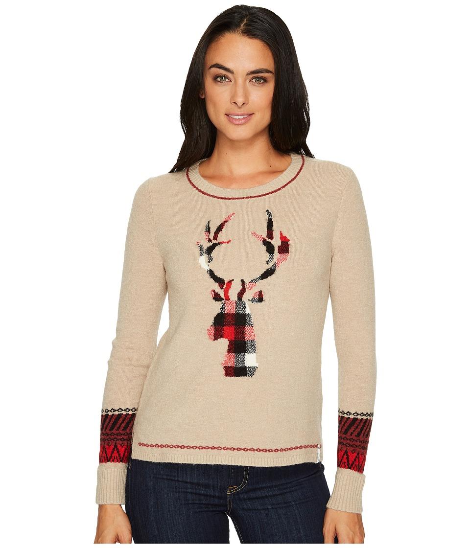 Woolrich Woolrich Motif Sweater (Burlap) Women