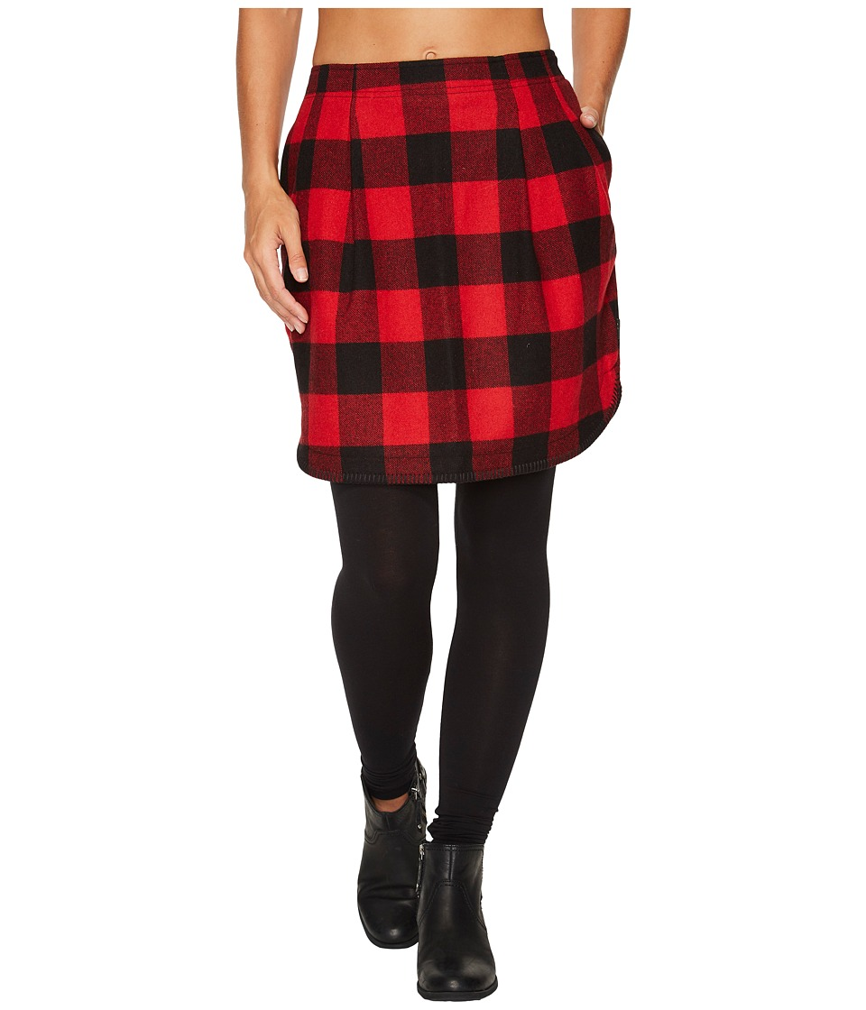 Woolrich Richville II Wool Skirt (Old Red) Women