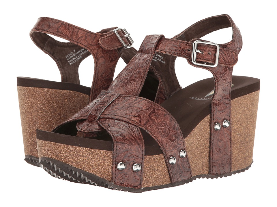 VOLATILE - Pamela (Brown) Women's Sandals