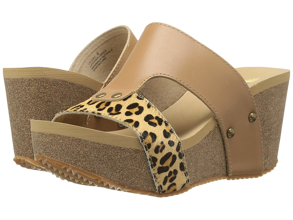 VOLATILE Charlee (Natural/Leopard) Women