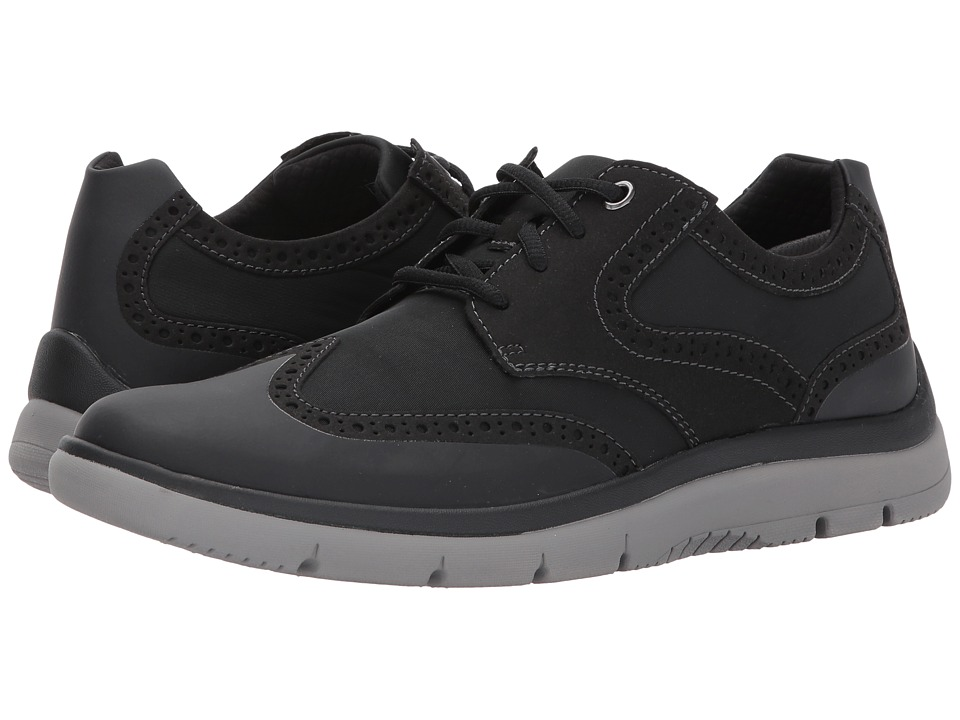 Clarks - Tunsil Wing (Black) Men's Shoes