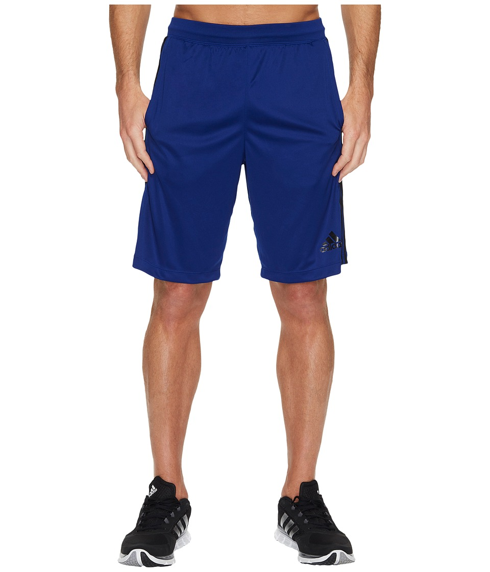adidas - Designed-2-Move 3-Stripes Shorts (Mystery Ink/Black) Men's Shorts