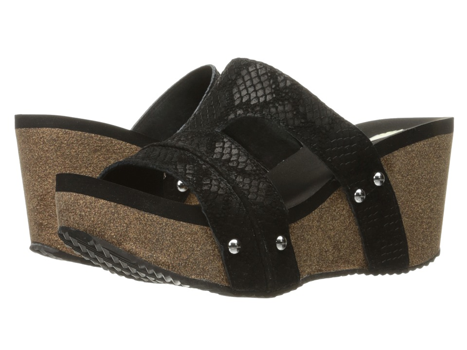 VOLATILE - Mount (Black) Women's Sandals