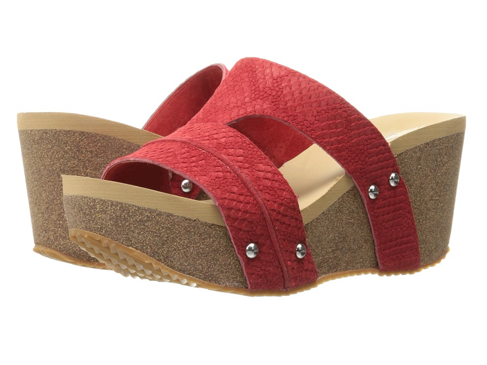 VOLATILE - Mount (Red) Women's Sandals