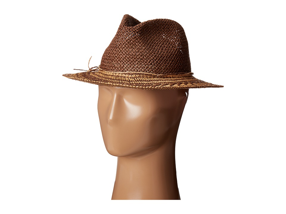 Echo Design - Cuban Panama Beach Hat (Tobacco) Caps