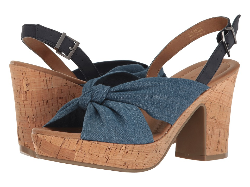 Kenneth Cole Reaction - Tole Booth (Blue) Women's Shoes