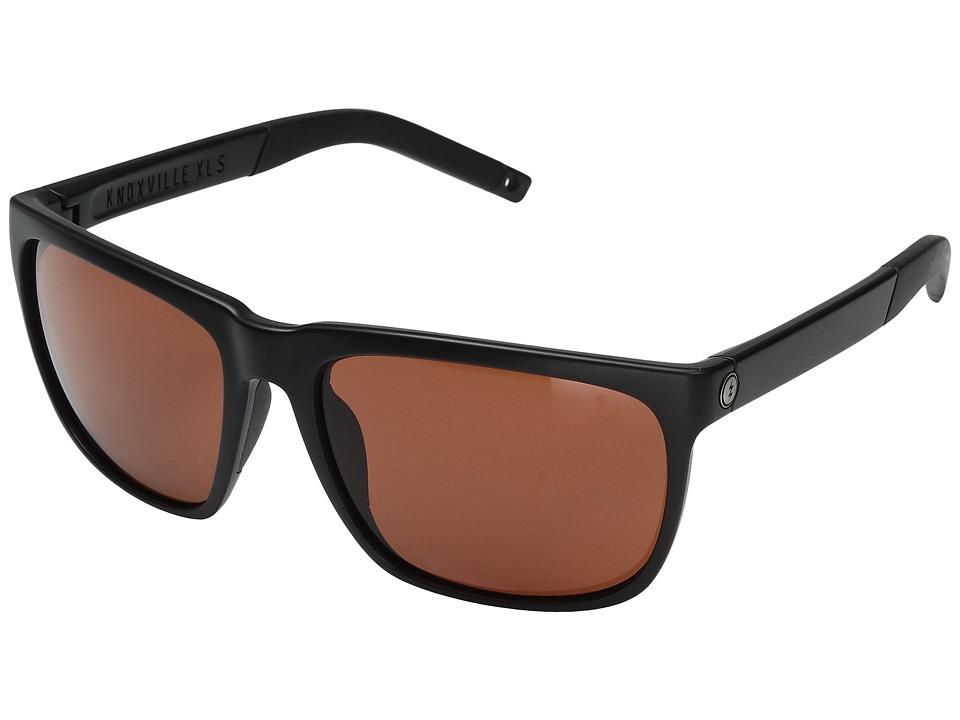 Electric Eyewear - Knoxville XL S (Matte Black/OHM Plus Rose) Fashion Sunglasses