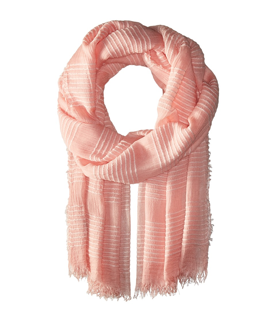 Echo Design - Tissue Weight Wrap Scarf (Cambon Coral) Scarves