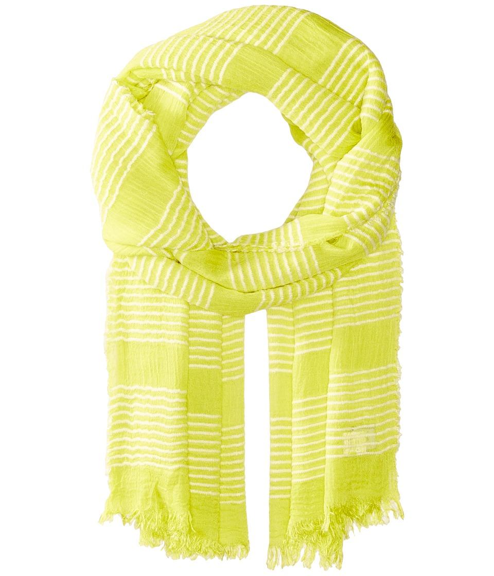 Echo Design - Tissue Weight Wrap Scarf (Citrus Twist) Scarves