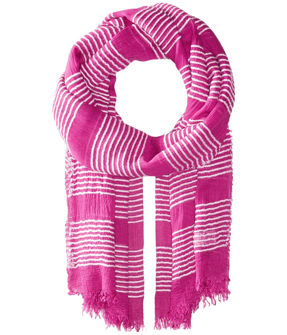 Echo Design - Tissue Weight Wrap Scarf (Hibiscus Pink) Scarves