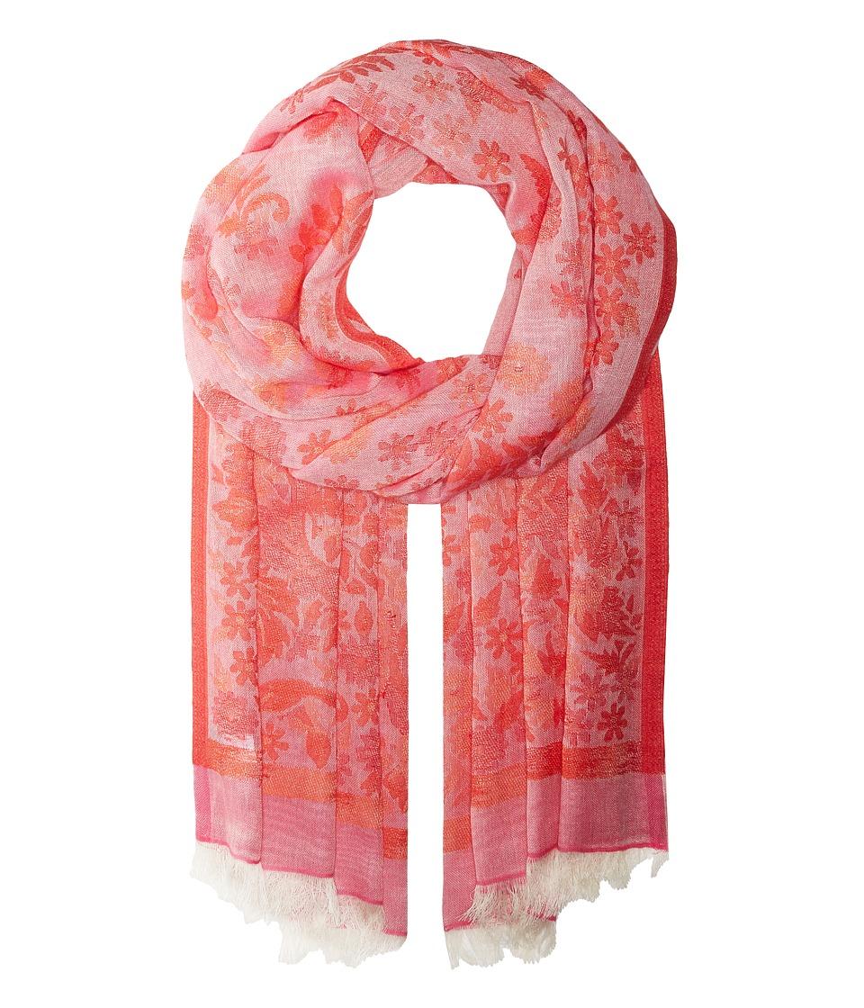 Echo Design - Un Fleur Wrap Scarf (Blush) Scarves