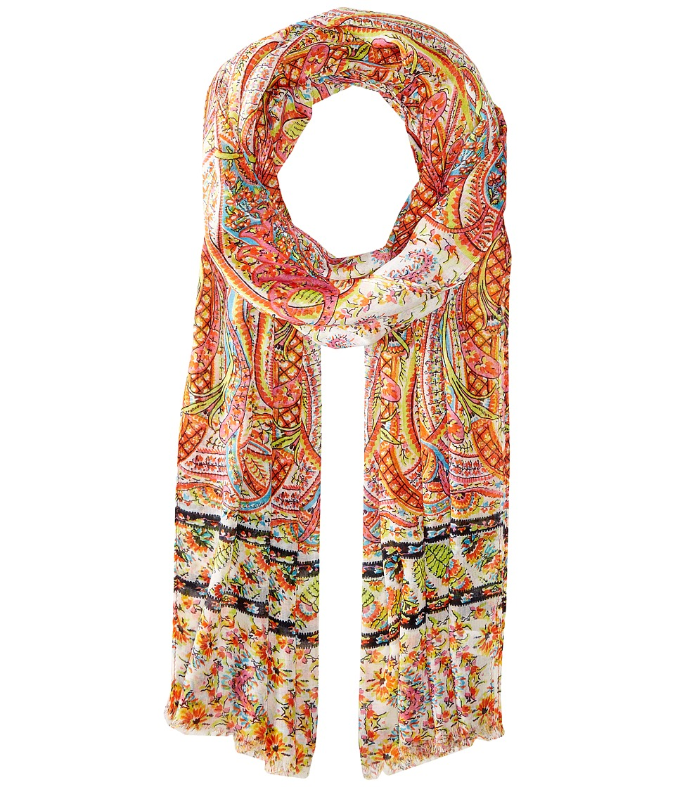 Echo Design - Tropic Paisley Wrap Scarf (Multi) Scarves