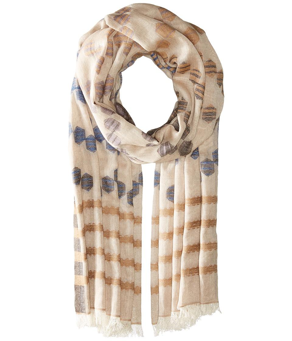 Echo Design - Cha Cha Wrap Scarf (Linen) Scarves