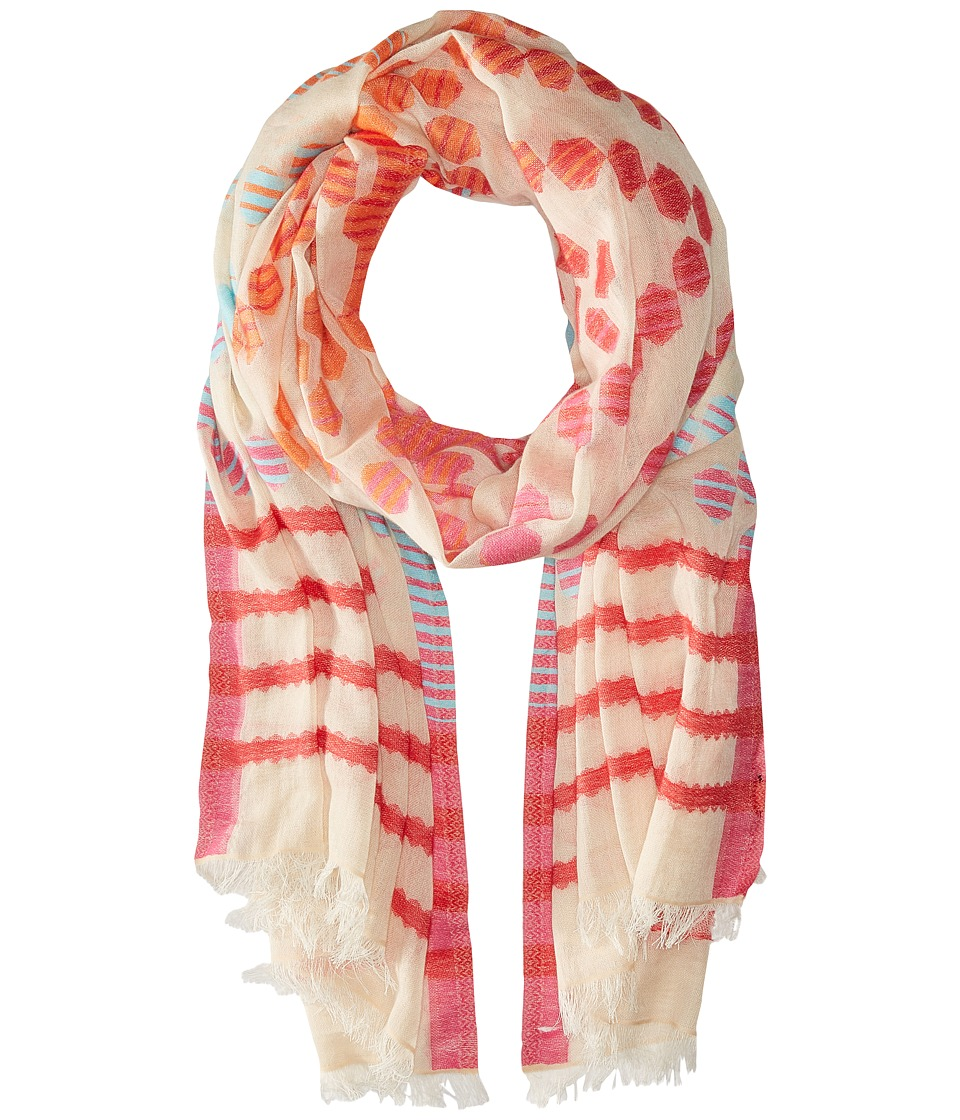 Echo Design - Cha Cha Wrap Scarf (Flamingo) Scarves