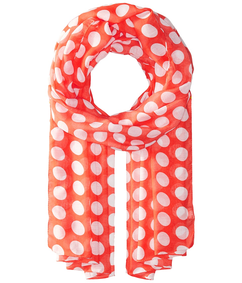 Echo Design - Let's Polka Oblong Scarf (Coral Reef) Scarves