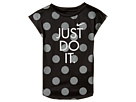 Nike Kids - Polka Dot Just Do It Dri-Fit A-Line Tee (Toddler)