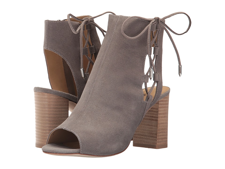 Vaneli - Better (Taupe Rory Suede/Silver Trim) Women's Dress Sandals