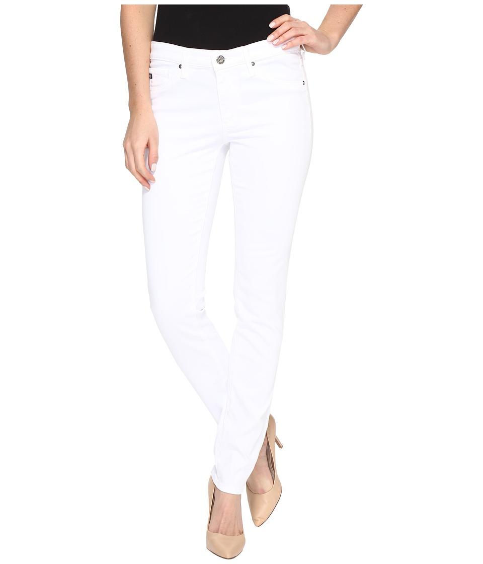 AG Adriano Goldschmied - Stilt Cigarette Leg in White (White) Women's Jeans
