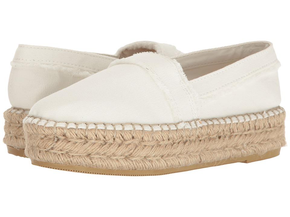 Steve Madden Tilden White Slip on Shoes
