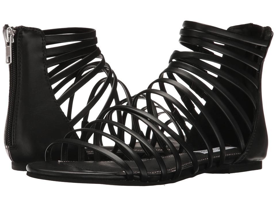 Steve Madden Wallis Black Sandals