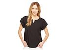 Calvin Klein Calvin Klein - Short Sleeve Top with Bar Hardware
