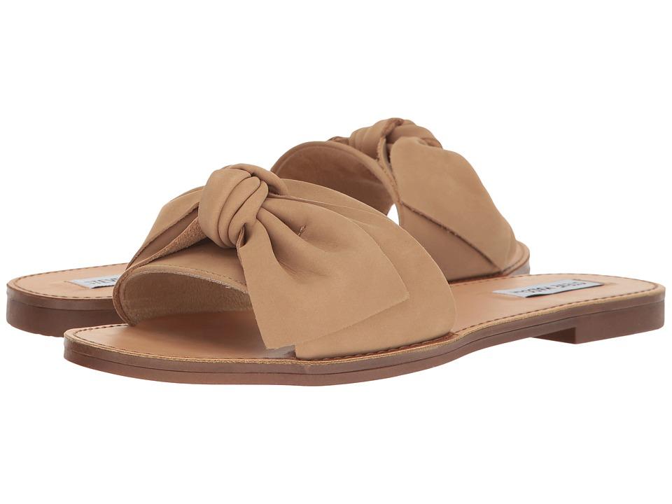 Steve Madden Diora Natural Nubuck Sandals