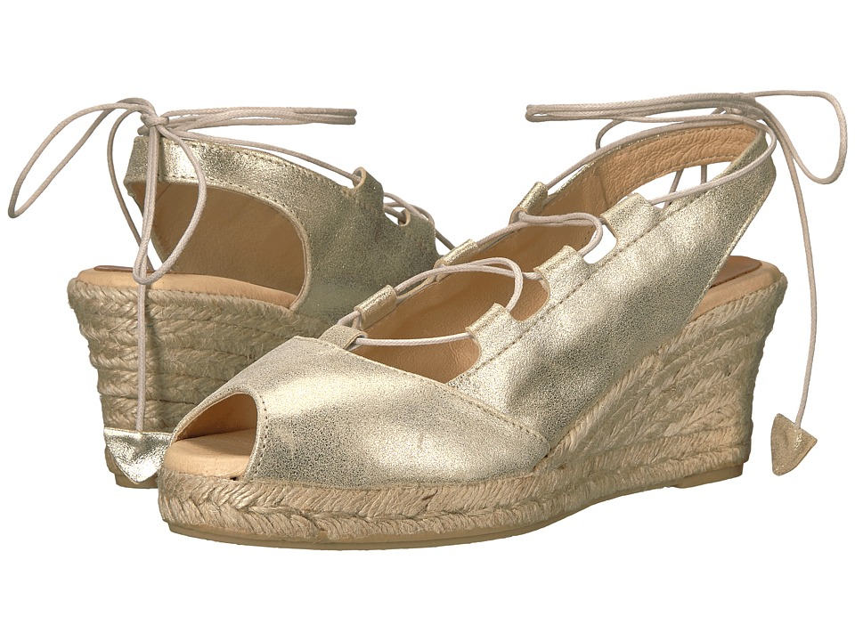 Patricia Green - Georgia (Champagne) Women's Shoes
