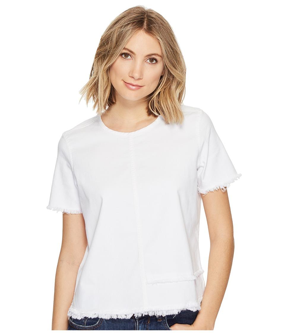 AG Adriano Goldschmied - Tawny Raw Tee (White Sand) Women's T Shirt
