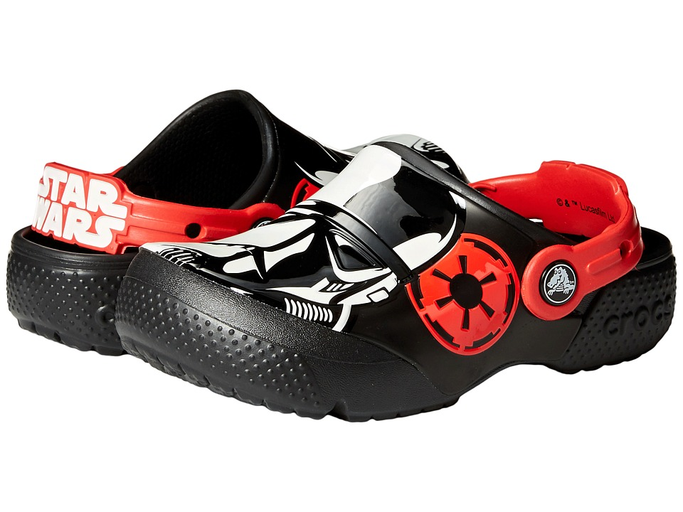 Crocs Kids FunLab Stormtrooper Clog (Toddler/Little Kid) (Black) Boys Shoes