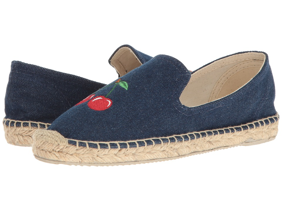 Patricia Green - Cherries (Denim) Women's Shoes