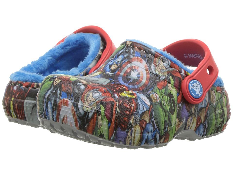 Crocs Kids FunLab Lined Avengers (Toddler/Little Kid) (Navy) Boys Shoes
