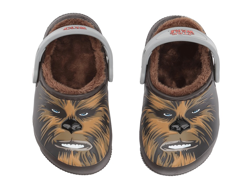 Crocs Kids FunLab Lined Chewbacca (Toddler/Little Kid) (Espresso) Boys Shoes