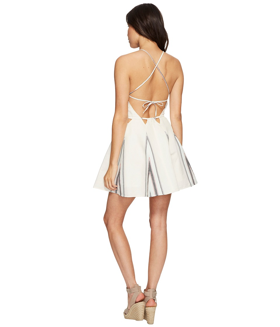 Dolce Vita - Blanche Dress (Ivory Mint/Black) Women's Dress