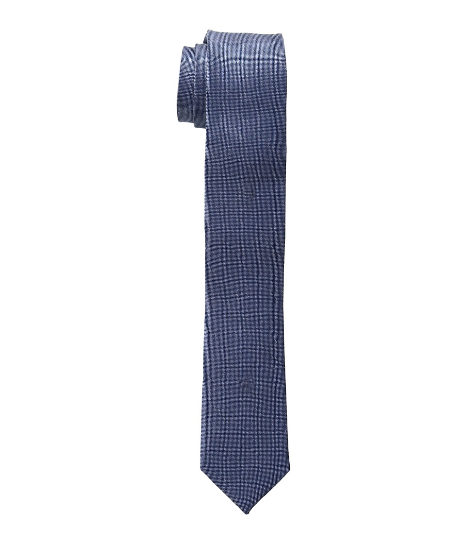 Calvin Klein - Linen Solid (Slate Blue) Ties