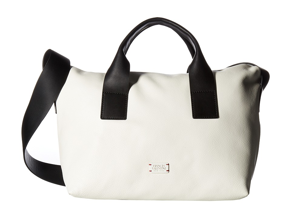 Frances Valentine - Small Elliot (White/Black) Handbags