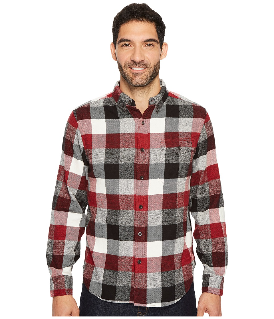 Woolrich Eco Rich Twisted Rich Shirt (Old Red Buffalo) Men