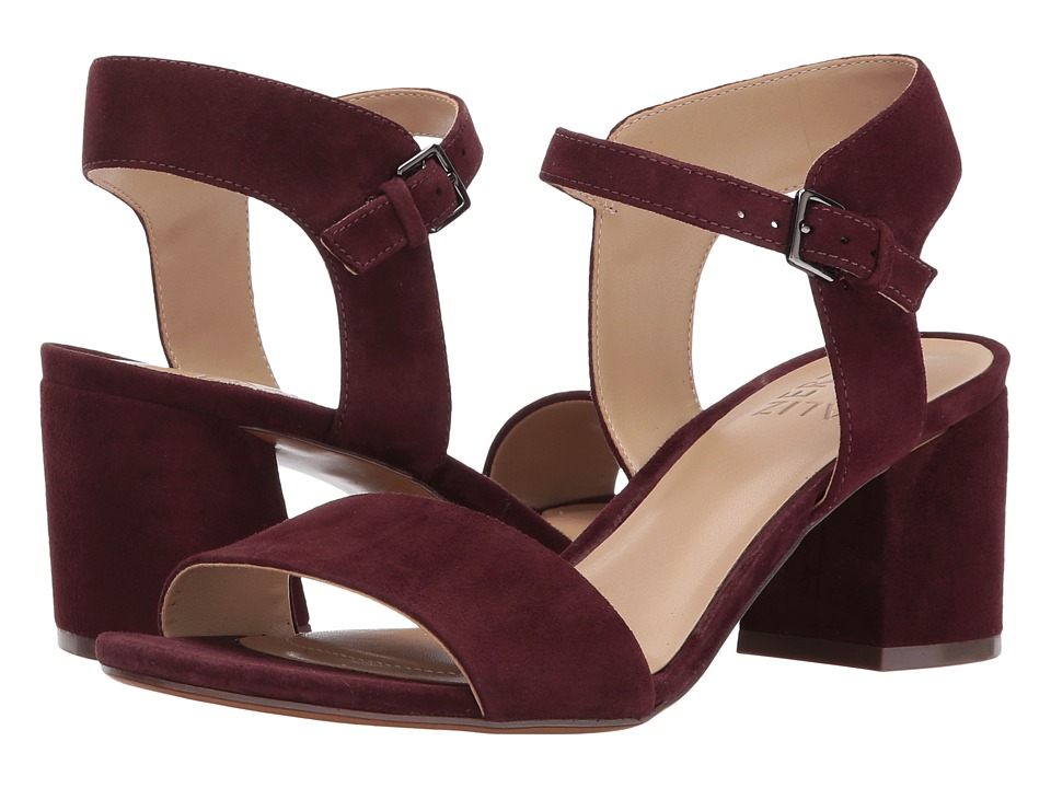 Naturalizer - Caitlyn (Bordo Suede) Women's Shoes