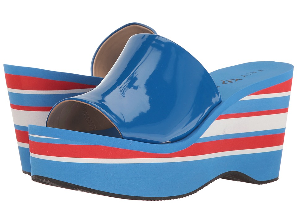 Katy Perry - The Casey (Ocean Blue Smooth Patent) Women's Shoes