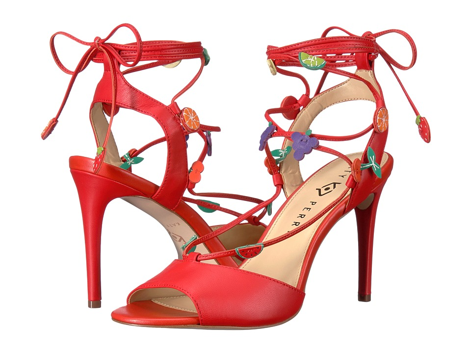 Katy Perry - The Carmen (Cherry Red Nappa) Women's Shoes